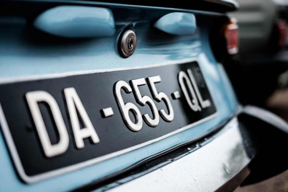 License plate recognition system